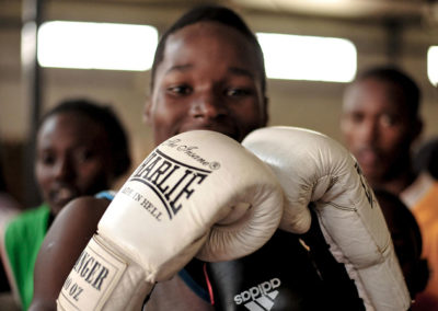 Boxeador de Sparks Bombers con Donaciones Round 13