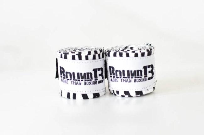 Vendas de boxeo Cebra Round 13