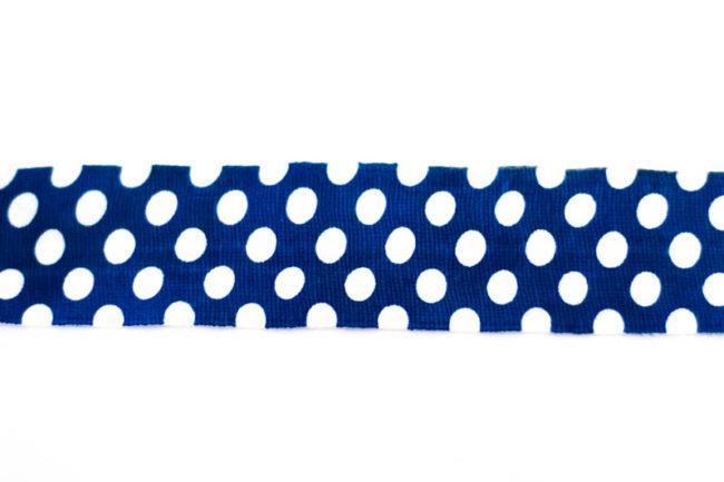 Vendas de boxeo Polka Dot Azul Round 13